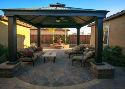 Custom Courtyard Hardscape Contractors 6