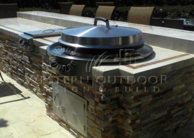 Custom Outdoor BBQ Islands 31
