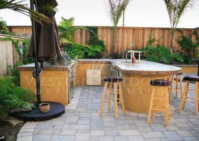 Stucco Outdoor Kitchen Contractors 13