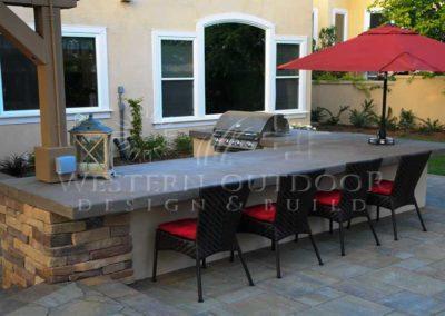 Stucco Outdoor Kitchen Contractors 15