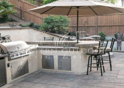 Stucco Outdoor Kitchen Contractors 18