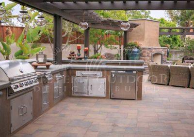 Stucco Outdoor Kitchen Contractors 7