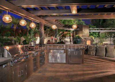 Stucco Outdoor Kitchen Contractors 8