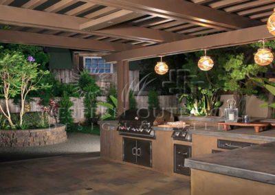 Stucco Outdoor Kitchen Contractors 9